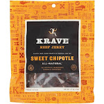 Krave Jerky All Natural Beef Jerky Sweet Chipotle 2.7 oz.
