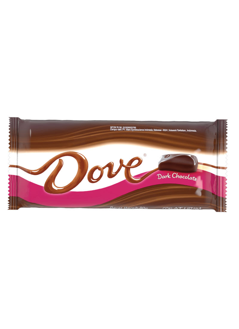 Image result for coklat dove dark choc