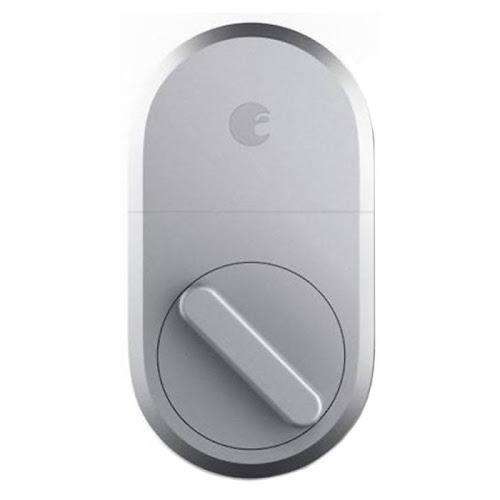 August 3rd Generation Technology Smart Lock - Silver