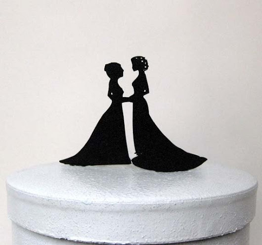 10 Perfect Gay Wedding Cake Toppers