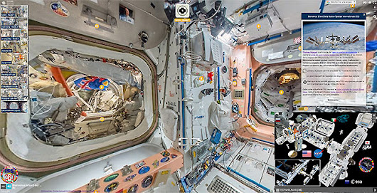 ISS 360 | Station Spatiale Internationale - Street View Enrichi