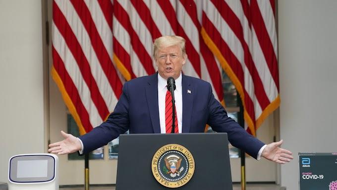"""Trump sobre Coronavirus: """"El mundo fue golpeado por la plaga de China."""""""