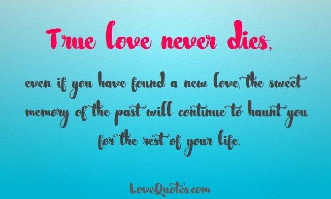 Sweet Love Memories Quotes