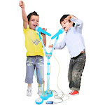 Children Musical Toy Karaoke Machine Kids Sing Toy Playset with MP3