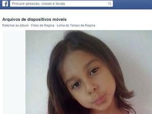 Ana Gabrielle Santos Ferreira  estava em condomínio do CDHU em Conchal quando sumiu (Foto: Reprodução/ Facebook)