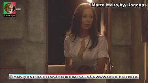 Marta Melro sensual em vários trabalhos
