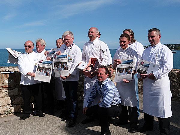 sortie du guide de maîtres cuisiniers de France 3