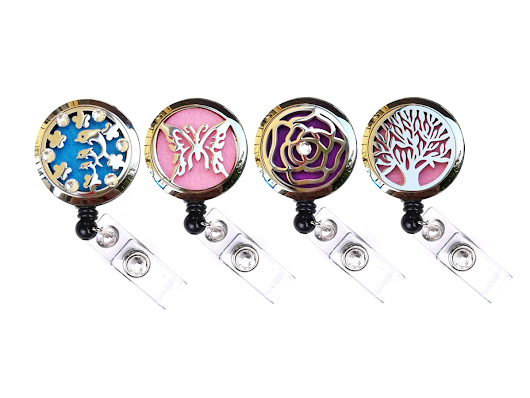 Introducing Our New Oil Diffuser Charm Locket Badge Reel Collection