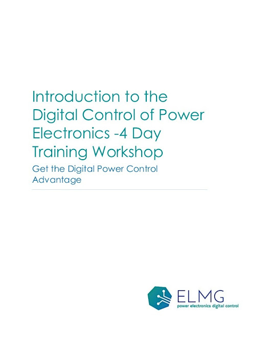 Digital Control of Power Electronics Training Course