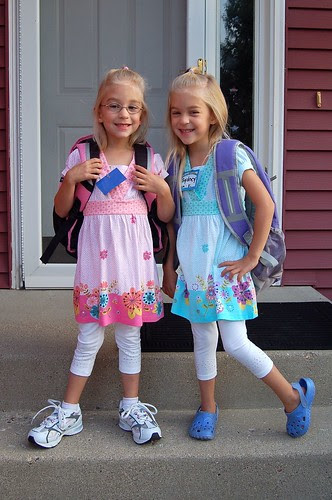 We are excited for our first day of school!