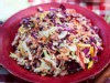 PHOTO: Hill Country's confetti cole slaw are shown here.