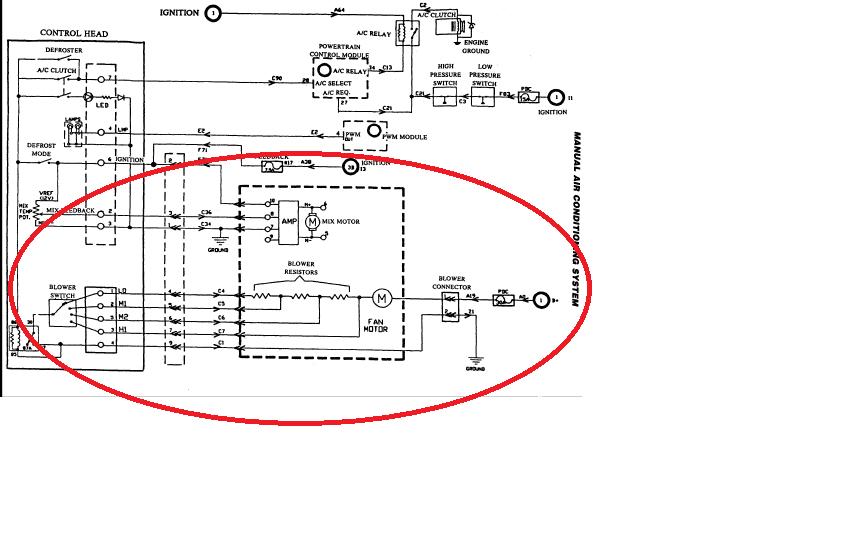 2000 Jeep Grand Cherokee Blower Motor Wiring Diagram