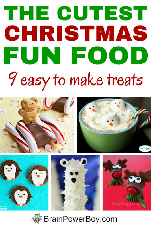 The Cutest Christmas Fun Food Ever!