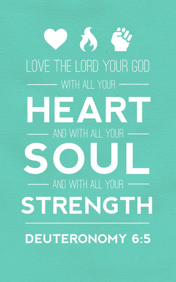 Scripture About Loving God With All Your Heart Archidev