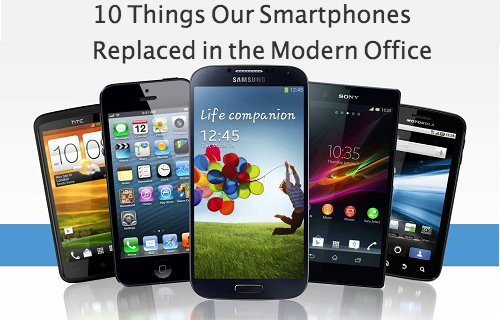 10 Things Smartphones Replaced in the Modern Office