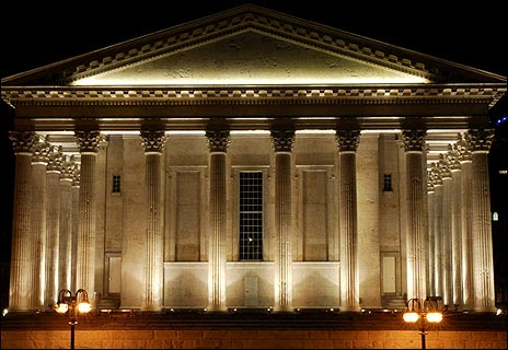 Birmingham Town Hall on re-opening night