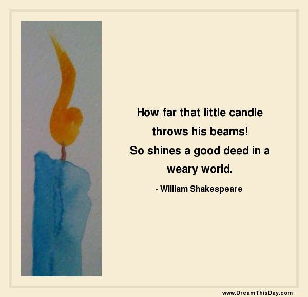 So Shines A Good Deed In A Weary World Enlightened Conflict