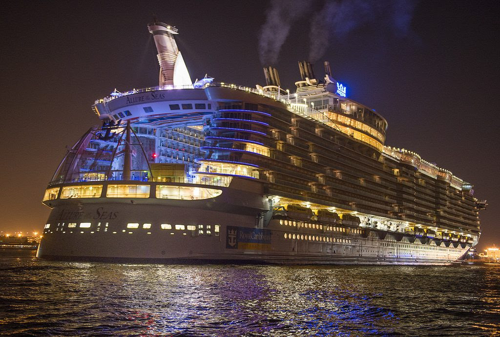15 Most Expensive Cruise Ships In The World | #1. Allure of the Seas ($1.43 billion)