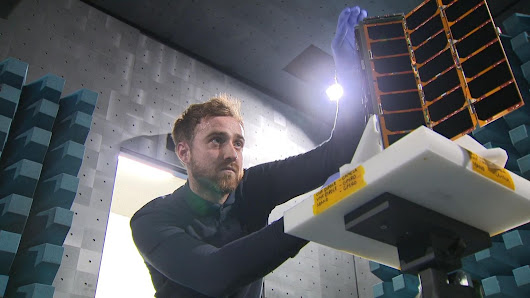 Glasgow leads Britain's satellite space race