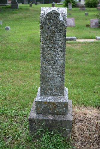 Tombstone of Margaret Fowlie