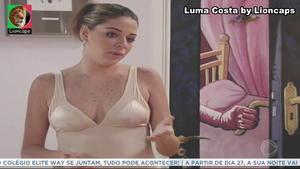 Luma Costa sensual na novela Luz do Sol