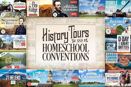 Landmark Events — History Tours and Homeschool Conventions