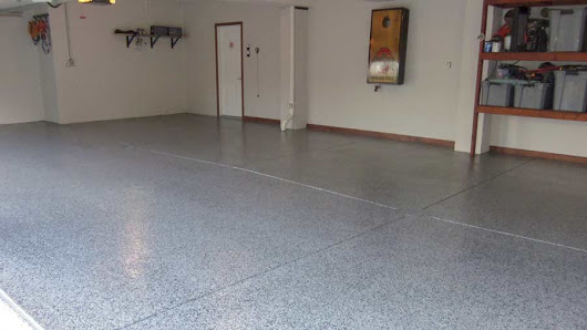 Polyaspartic Garage Floor Coating Install - Pittsburgh, PA