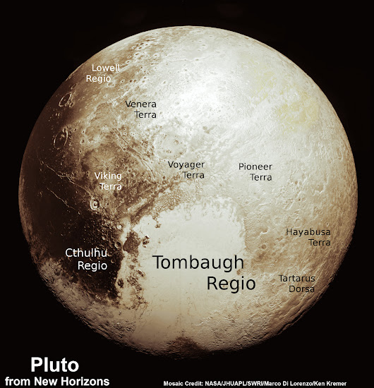 Global Pluto Mosaic From New Hi Res Imagery Reveals Bewildering Diversity and Complexity