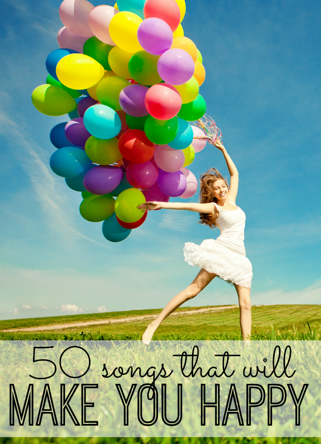 50 Songs that will make you happy