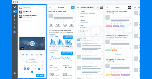 Twitter to Offer Paid Version of Tweetdeck? - Search Engine Journal