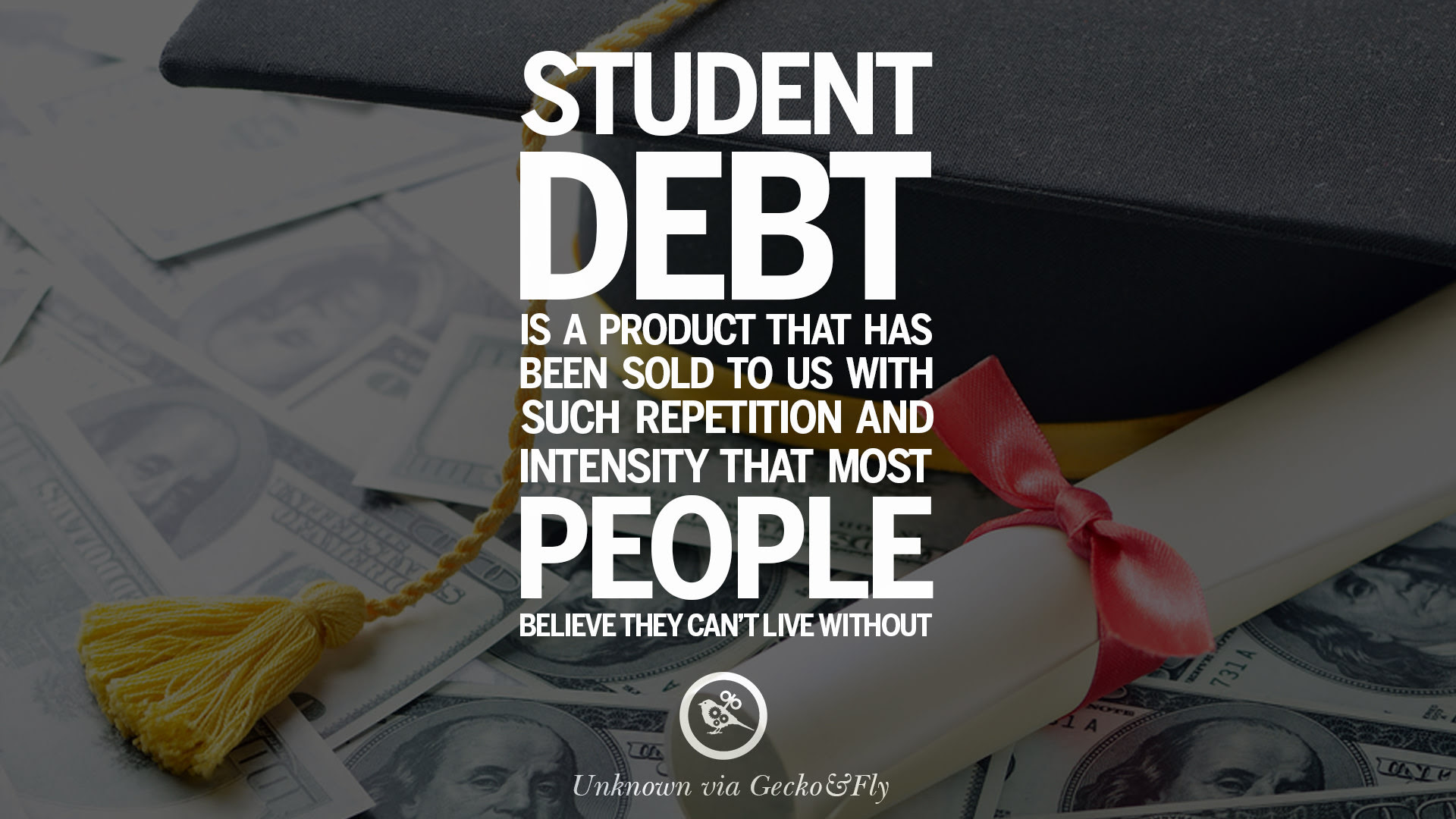 student loans education debt quotes 09