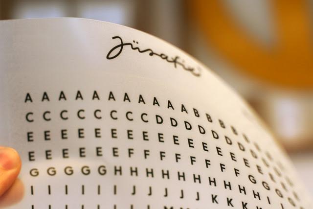 Anreibebuchstaben