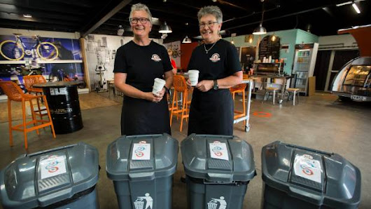 Plastic is not fantastic for Palmerston North cafes opting for biodegradable products