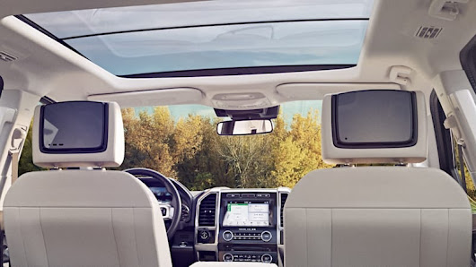 The 2018 Ford Expedition will offer live streaming TV via the SlingBox app
