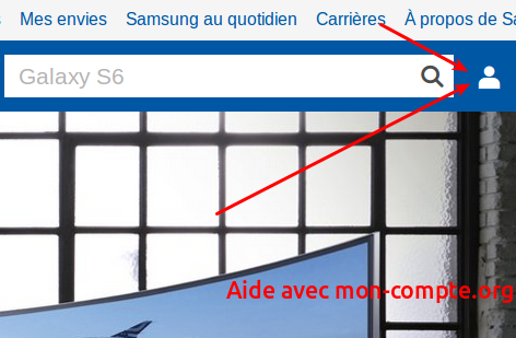 Mon compte Samsung : France, Galaxy et Apps