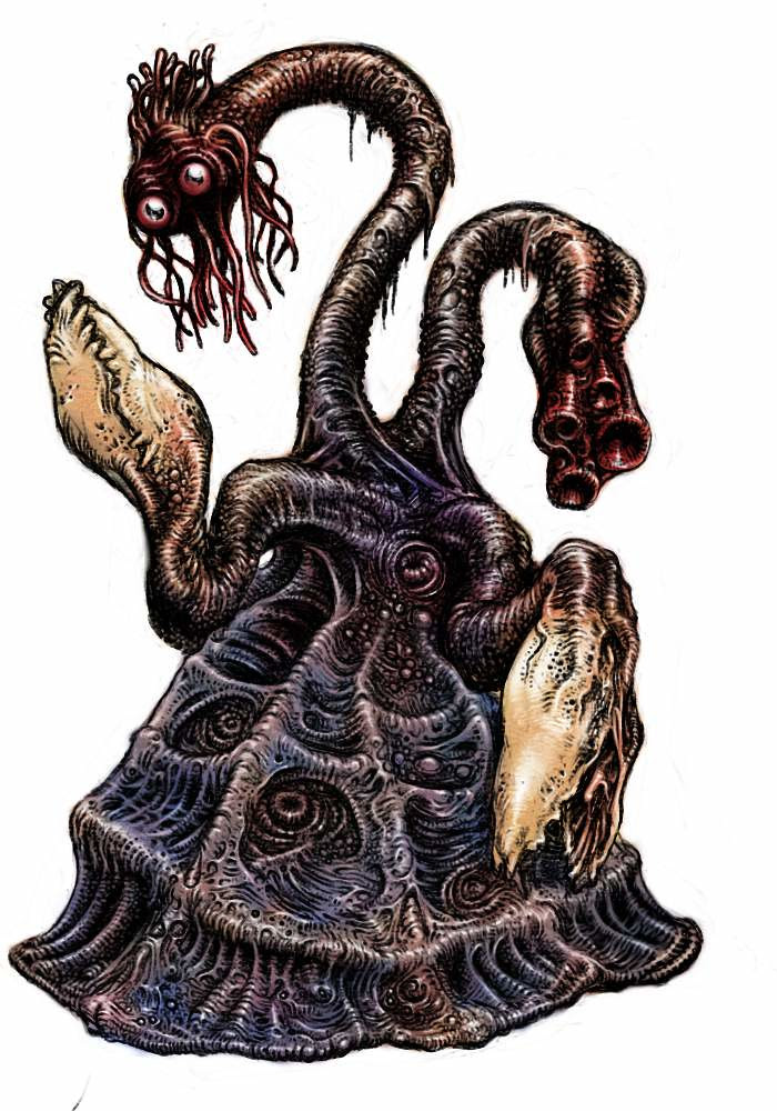 Tatsuya Nemoto (H.P Lovecraft Illustration) Great Rase of YITH