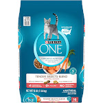 Purina ONE Salmon & Tuna Flavor Dry Cat Food - 16lbs
