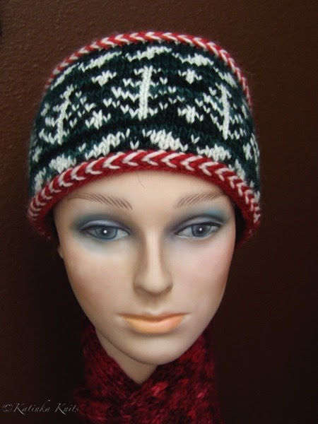 Sigrun Holiday Hat Knitting Pattern (and a DISCOUNT code) <3
