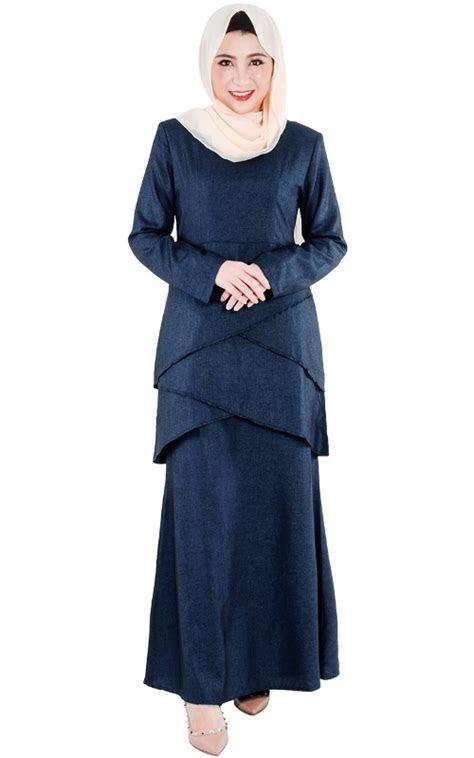 baju kurung modern cantik terbaru  elegan mewah