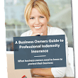 FREE Professional Indemnity Insurance Guide
