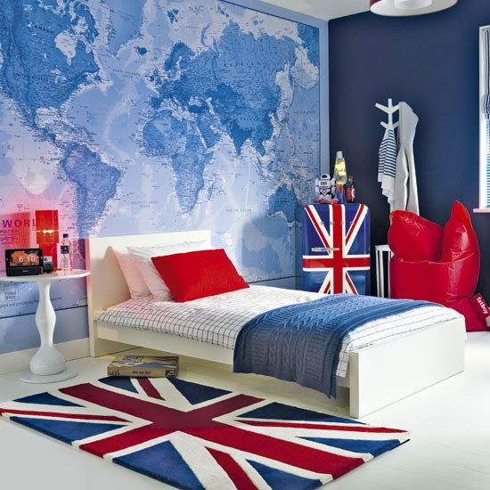 British-themed boy's bedroom | Boy's bedroom ideas | Image | Housetohome.co.uk
