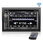 Upgraded Pyle Double Din Touchscreen | Dvd Cd Player | Bluetooth Handsfree Calling | 6.5 In Lcd Monitor | Usb/micro Sd Card Slot | Am Fm Radio | Rca