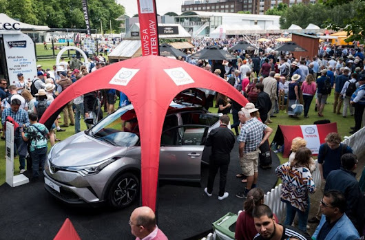 Toyota C-HR made an appearance at Lord's Cricket Ground - Toyota C-HR Forum