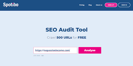 Spotibo: A New On-Page SEO and Analysis Tool You Need to Use