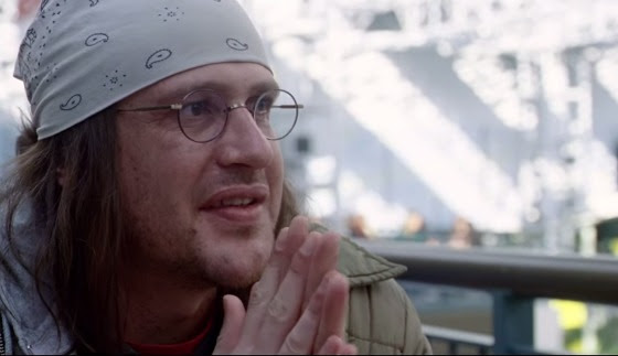 Jason Segel as DFW | Tacky Harper's Cryptic Clues
