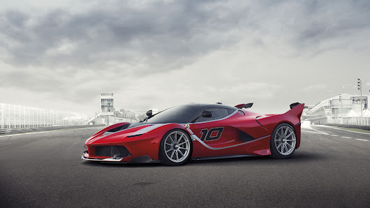 Ferrari unleashes limited new models: track-only FXX K, Sergio roadster