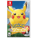Nintendo HACPADW2A Pokemon Lets Go Pikachu Nintendo Switch Games