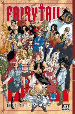 Couverture Fairy Tail, tome 06
