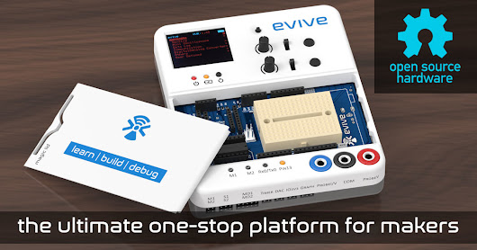 evive: the best electronic prototyping platform!