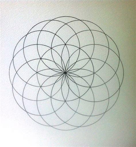 sacred geometry   draw torus   draw mandalas